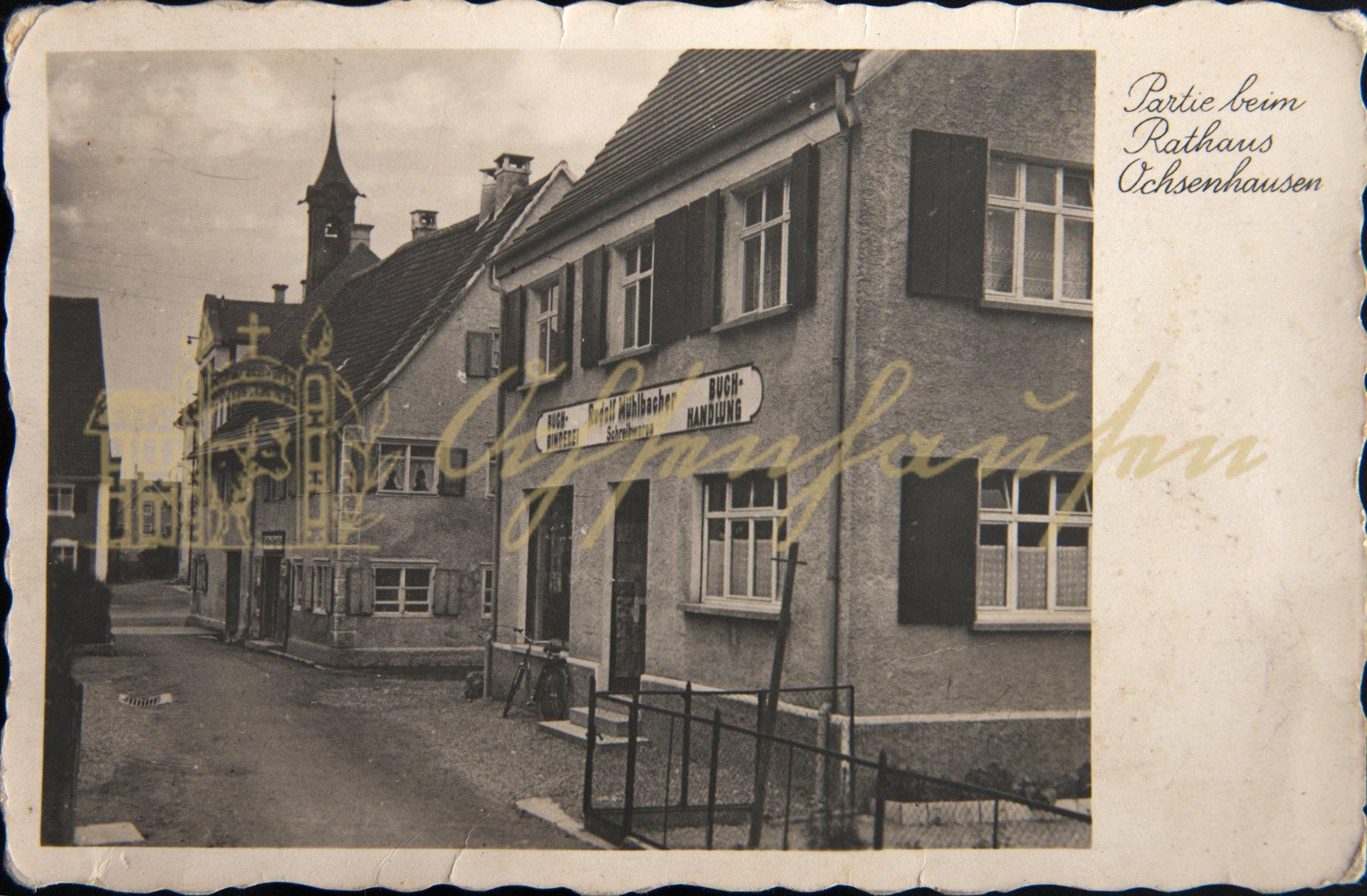 Rudolf Mühlbacher - Buchbinderei - Buchhandlung - Schreibwaren